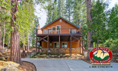Yosemite Scenic Wonders has Yosemite cabins available for rent - Bears Den & Little Bear