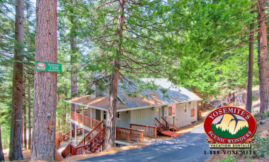 Yosemite Scenic Wonders has Yosemite cabins available for rent - Eagles Nest