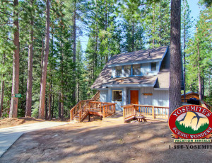 Yosemite Scenic Wonders has Yosemite cabins available for rent - Pinetree Retreat