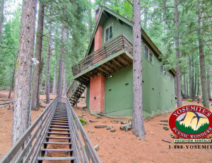 Yosemite Scenic Wonders has Yosemite cabins available for rent - Sunset Hill