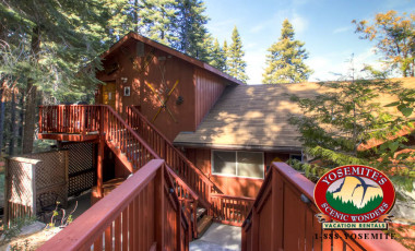 Yosemite Scenic Wonders has Yosemite cabins available for rent - Alpine View