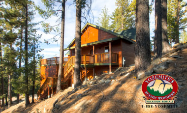 Yosemite Scenic Wonders has Yosemite cabins available for rent - Glacier Peak Lodge