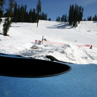 Snow tubing in Yosemite's Badger Pass