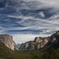 Yosemite Valley as seen from tunnel parking area
