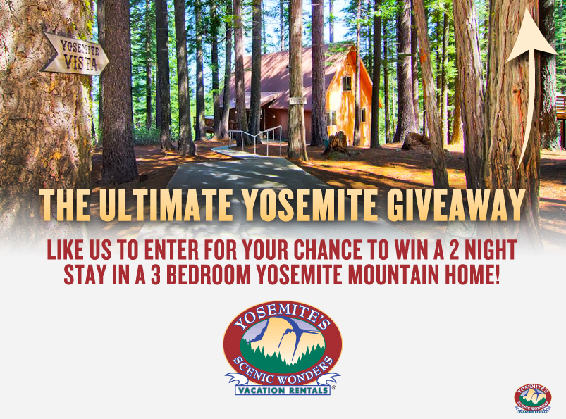 Yosemite Lodging Giveaway