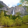 Yosemite fall, among the 10 things to do in Yosemite with kids