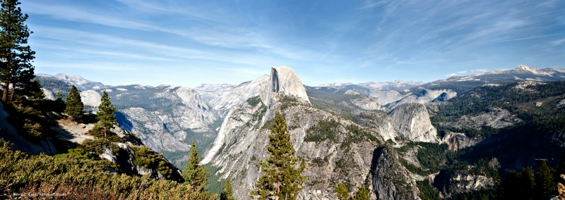 The Elevation In Yosemite at Glacier Point