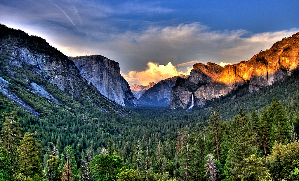 Yosemite Valley Entrance Hdr